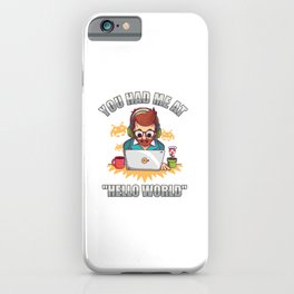 Programming Exercises Gifts iPhone Case