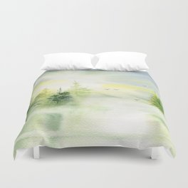 Where My Heart is  Duvet Cover