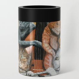 Cat Quartet Can Cooler