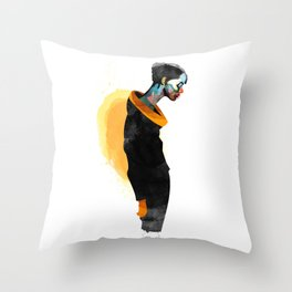 Thanatos Throw Pillow