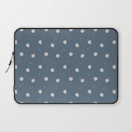 White Fish Fine Pattern Laptop Sleeve