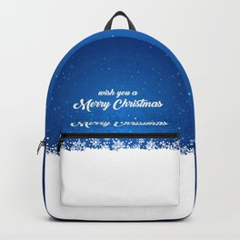 Wish you a Merry Christmas Backpack
