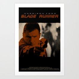 Blade Runner - Deckard Art Print