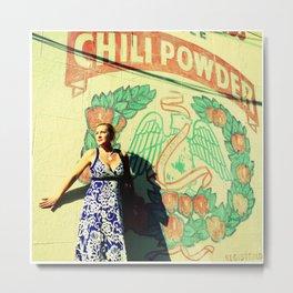 Chili Powder Metal Print
