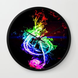 The Great Treble Clef Wall Clock