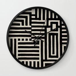Optical Maze Wall Clock