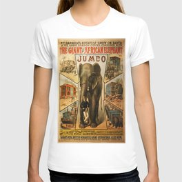 Vintage poster - Jumbo T-shirt