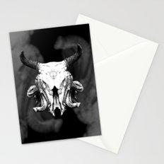 SquidBull Skull Stationery Cards