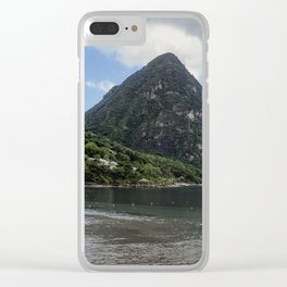 St.Lucia Island Vibes Clear iPhone Case