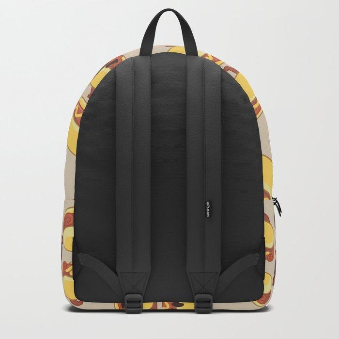 Pugs Hotdog Backpack