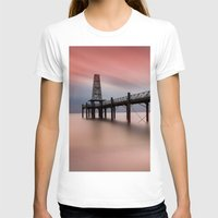 wooden T-shirts featuring  Wooden Pier by davehare