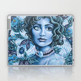 Blue Heterochromia Laptop & iPad Skin
