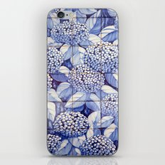 Floral tiles iPhone & iPod Skin