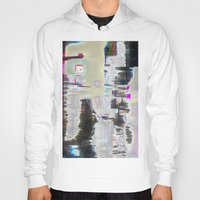 street Hoodies featuring Street by Teh Glitch