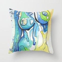 Babe #6 Throw Pillow