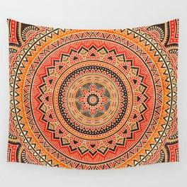 Hippie Mandala 12 Wall Tapestry
