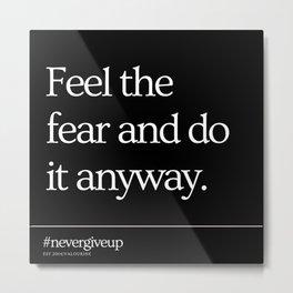 18    Simple Short Quotes   200818   Short Inspiring Motivational Inspirational Quotes Metal Print