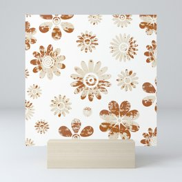 Shabby Flowers Mini Art Print
