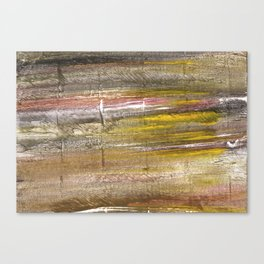 Grullo abstract watercolor Canvas Print