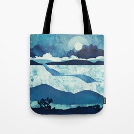 Blue Desert Tote Bag