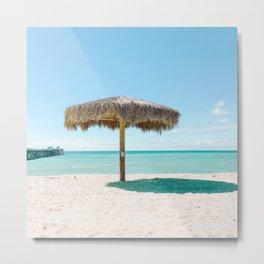 California Colors - Beach Umbrella  - v11 Metal Print