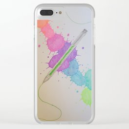 Tool of the trade Clear iPhone Case