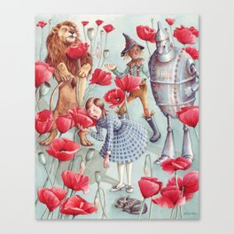 Poppy Dreams Canvas Print