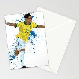Neymar - Brazilian Footballer Stationery Cards