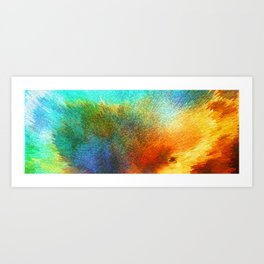 Color Infinity - Abstract Art By Sharon Cummings Art Print