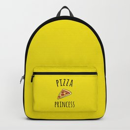 Pizza Princess Funny Quote Backpack