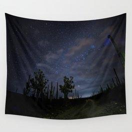 Stars over the desert Wall Tapestry