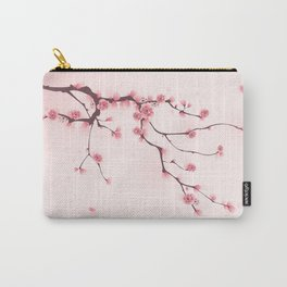 Oriental cherry blossom in spring 002 Carry-All Pouch