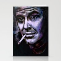 jack nicholson Stationery Cards featuring Jack Nicholson by andy551