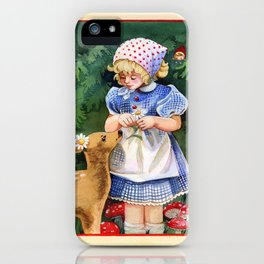 Gnome Forest Friends iPhone Case