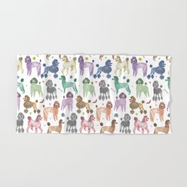 Poodles by Veronique de Jong Hand & Bath Towel