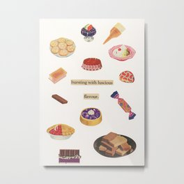 Sweet Treats Metal Print