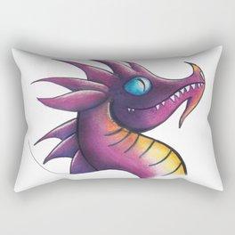 Dragon Purple Rectangular Pillow