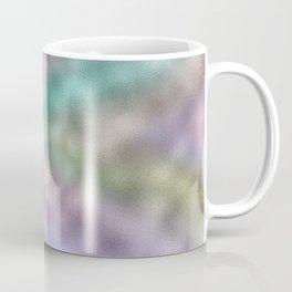 Mottled Rainbow Iridescent Foil Coffee Mug