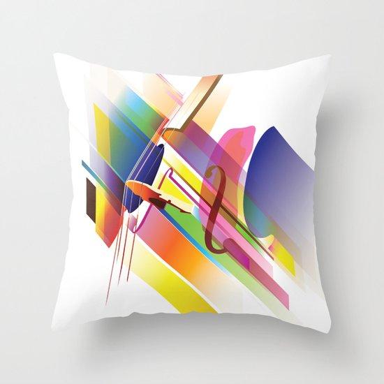 Cello Uno Throw Pillow