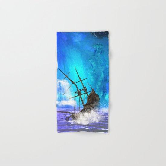 Shipwreck  Hand & Bath Towel