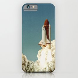 Houston we have cauliflower - Rocket take-off iPhone Case