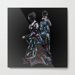 That Red And Green Tartan Pattern Metal Print