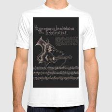 Hippocampus Hendricksium  Mens Fitted Tee MEDIUM White