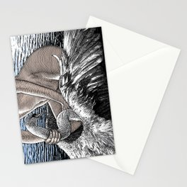 asc 677 - Les ailes du désir (The swain in disguise) Colored version Stationery Cards