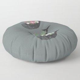 Succulent Whale Trio Floor Pillow