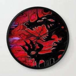 Enfer's Breath Wall Clock