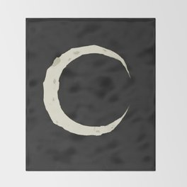 La Luna Throw Blanket