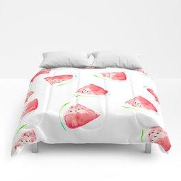 watermelon slice print Comforters