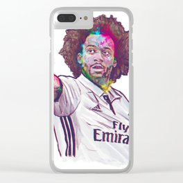 Real Madrid Marcelo Clear iPhone Case
