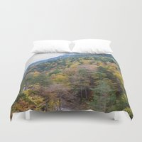 forrest Duvet Covers featuring Forrest  by Veronika